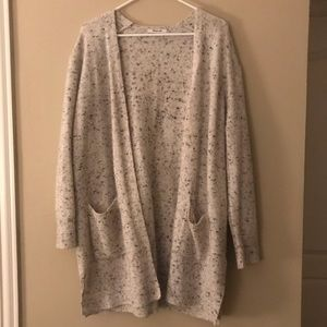 Beautiful Speckled Cream Madewell Cardigan
